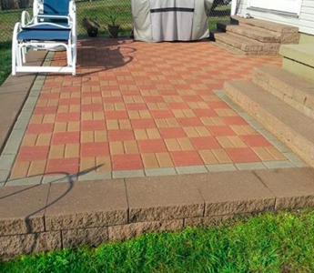 Galati Landscaping patio job
