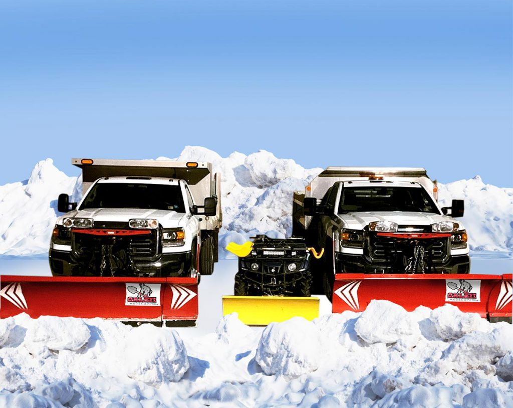 Commercial Snow Plow Trucks