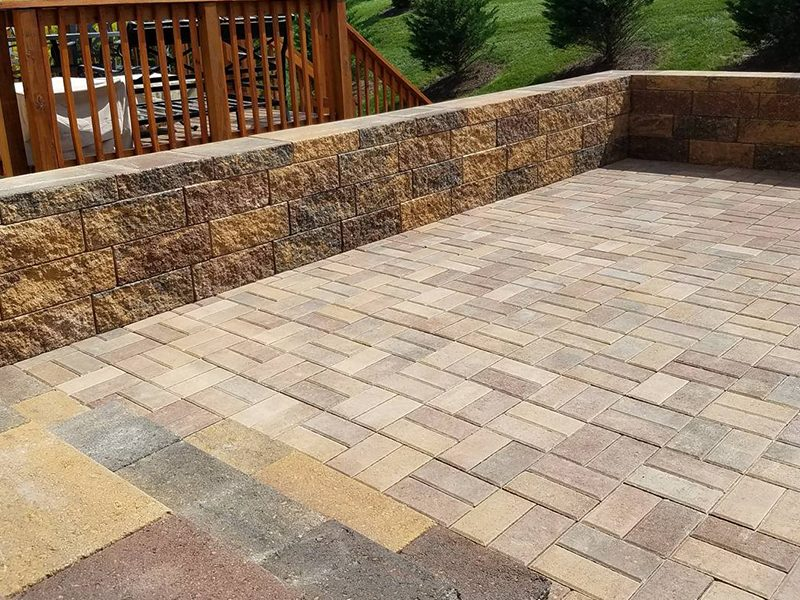Galati Landscaping Patio Hardscape Design Pavers